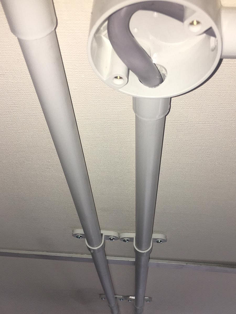Gas Fired Unit Heater Installation (1)